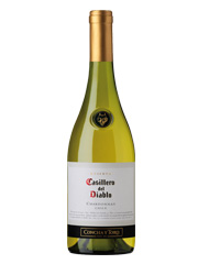 Casillero del Diablo, Chardonnay, Concha y Toro DO Casablanca Valley, Chili blanc