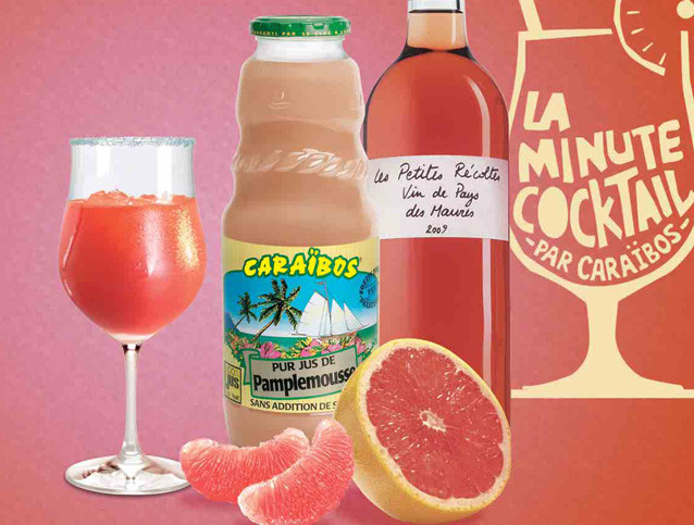 Cocktail Rosé Pamplemousse – 199